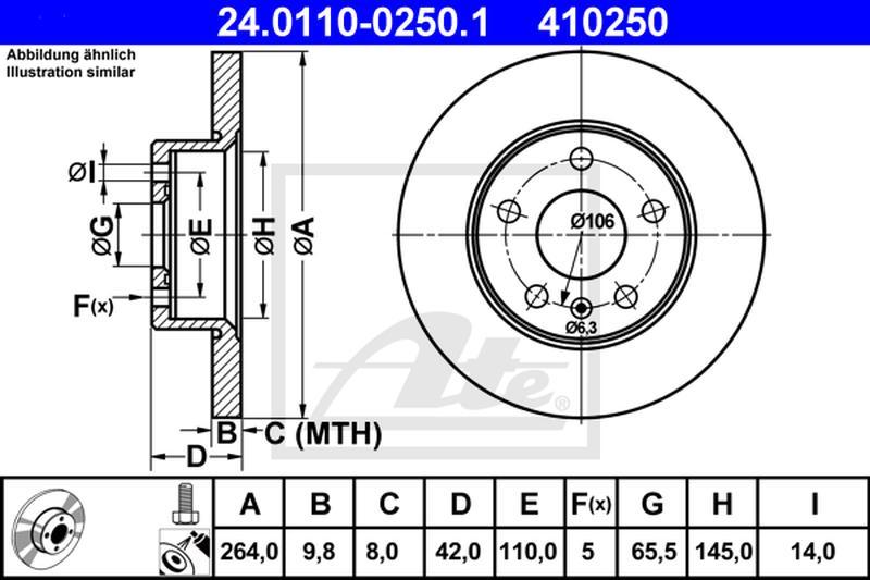 ersatzteile-info.de - opel astra g caravan (f35_) 1.6 16v ate